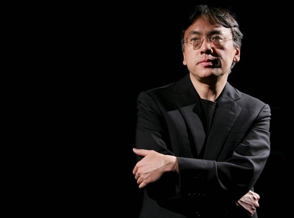"""Author Kazuo Ishiguro is pictured during an interview with Reuters in New York in this April 20, 2005 file photo. The sweeping archives of award-winning novelist Ishiguro will be heading to a University of Texas research library, including a discarded opening chapter for his best-known book """"The Remains of the Day,"""" the university said. REUTERS/Mike Segar/Files"""